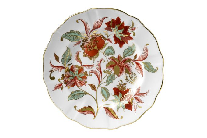 Royal Crown Derby Seasons Accent Plates Accent Side Plate Autumn Gold 21.5cm