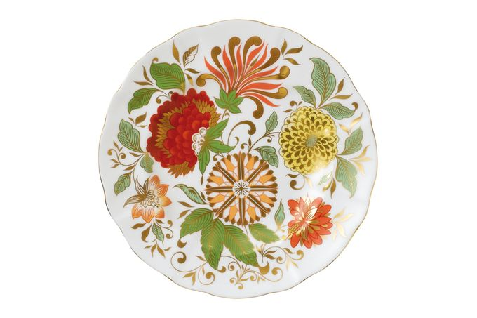 Royal Crown Derby Seasons Accent Plates Accent Side Plate Indian Summer 21.5cm