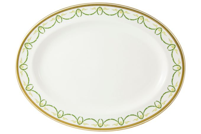 Royal Crown Derby Titanic Oval Plate / Platter 41.75cm