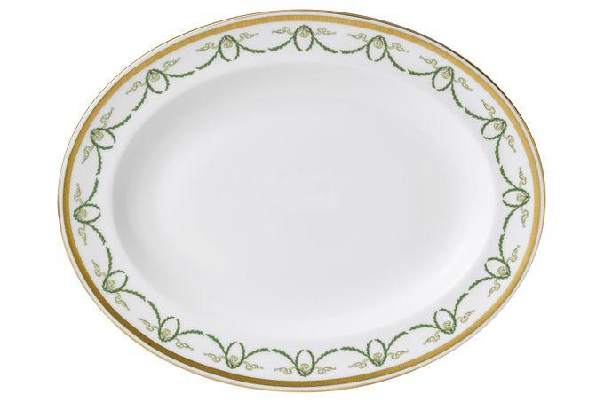 Royal Crown Derby Titanic Oval Plate / Platter 34.5cm