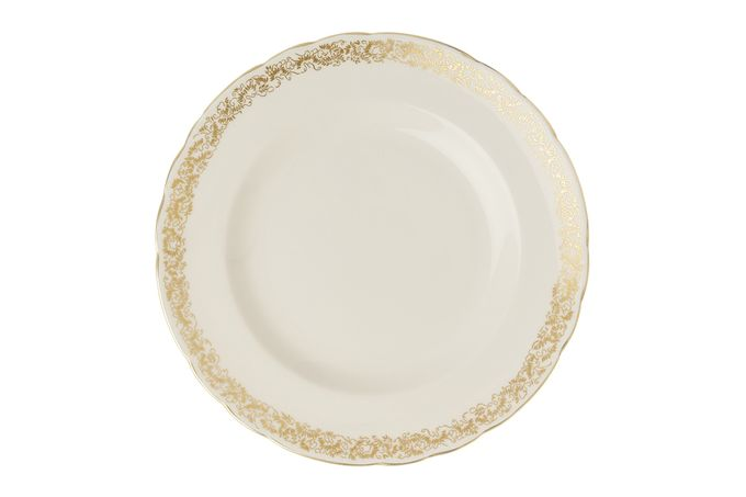 Royal Crown Derby Aves - Gold - Narrow Band Side Plate 21.65cm