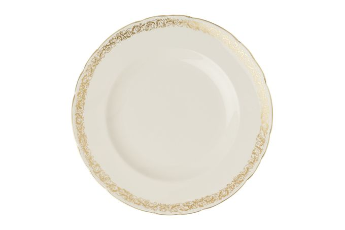 Royal Crown Derby Aves - Gold - Narrow Band Dinner Plate 27cm