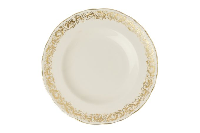 Royal Crown Derby Aves - Gold - Narrow Band Tea Plate 16cm