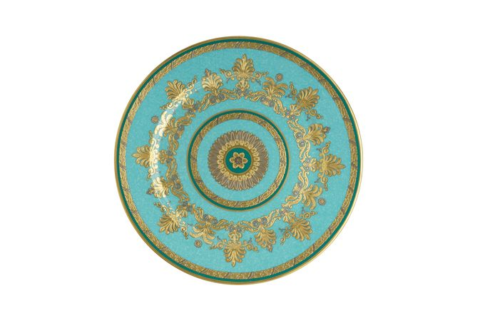 Royal Crown Derby Turquoise Palace Service Plate 30cm
