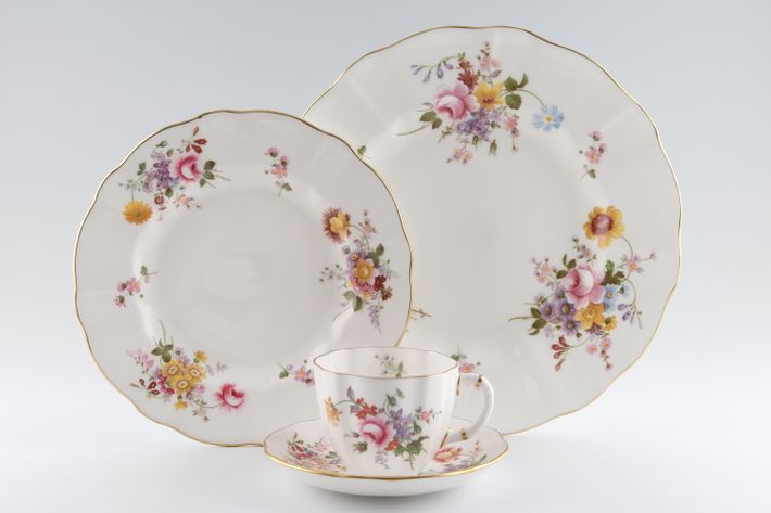 Royal Crown Derby Derby Posies - Various Backstamps