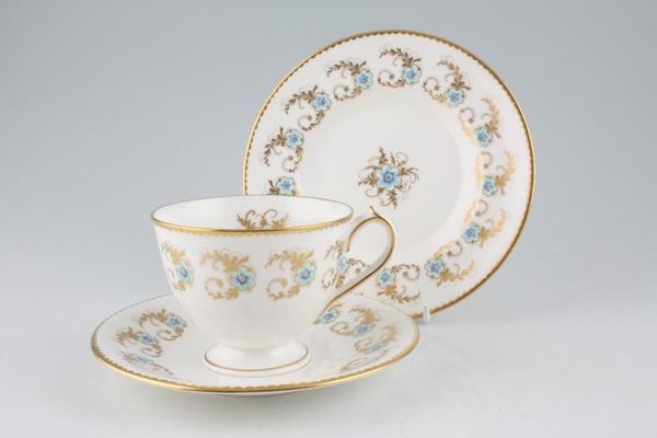Royal Crown Derby Blue Pimpernel - A1246