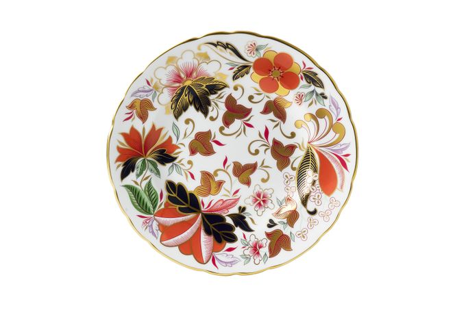 Royal Crown Derby Chelsea Garden Accent Side Plate Fleur 21cm