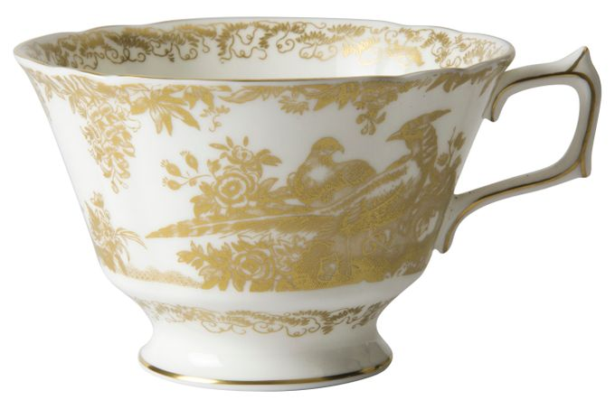Royal Crown Derby Aves - Gold Breakfast Cup