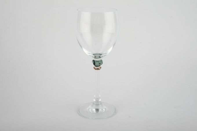 """Boots Hanover Green Wine Glass 2 5/8 x 7 3/8"""""""