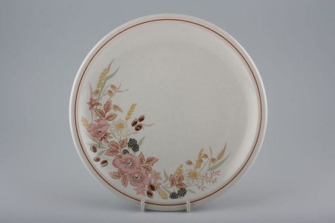 """Boots Hedge Rose Breakfast / Lunch Plate 8 5/8"""""""
