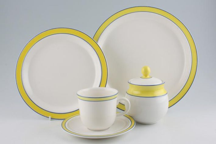 Royal Doulton Colours - Yellow