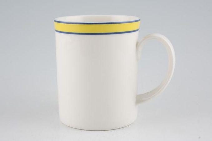 "Royal Doulton Colours - Yellow Mug 2 7/8 x 3 5/8"""