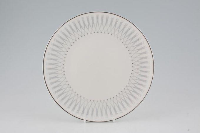 "Royal Doulton Debut - H4941 Starter / Salad / Dessert Plate grey b/s 8 1/4"""