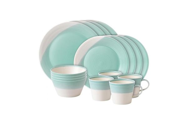 Royal Doulton 1815 - Tableware 16 Piece Set Aqua