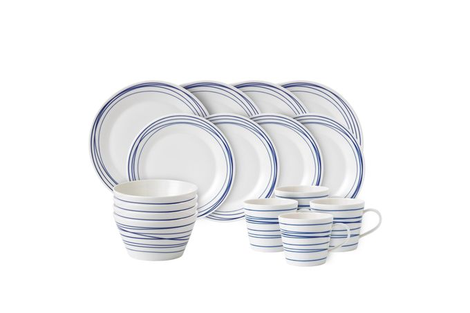 Royal Doulton Pacific 16 Piece Set Lines