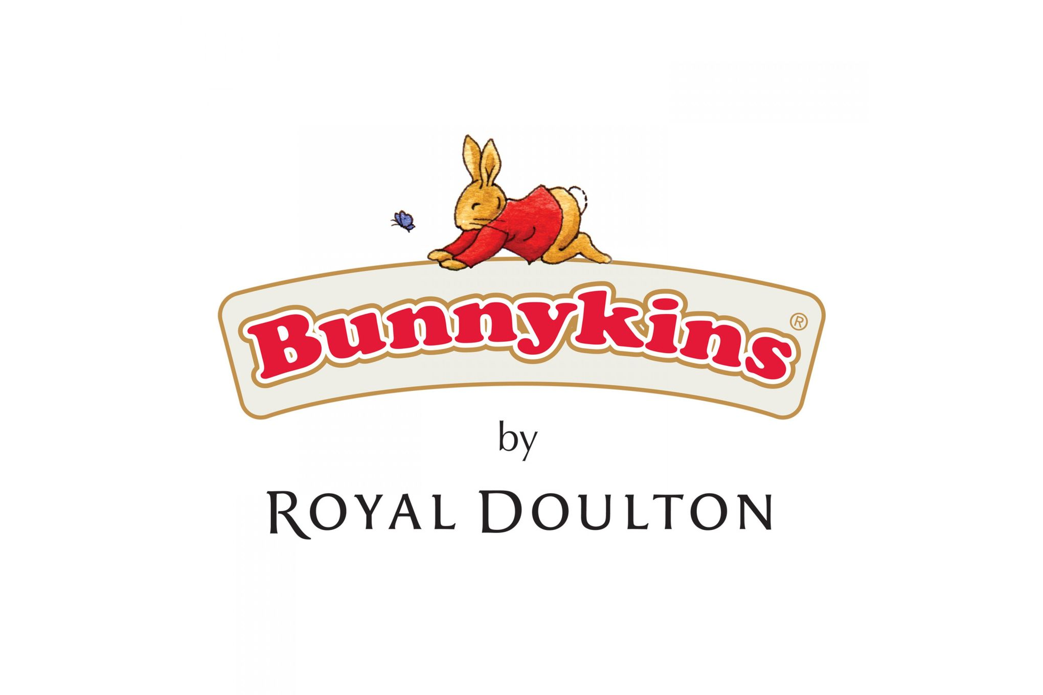 Royal Doulton Bunnykins 2 Piece Set Baby Plate, 2 Handled Mug thumb 2