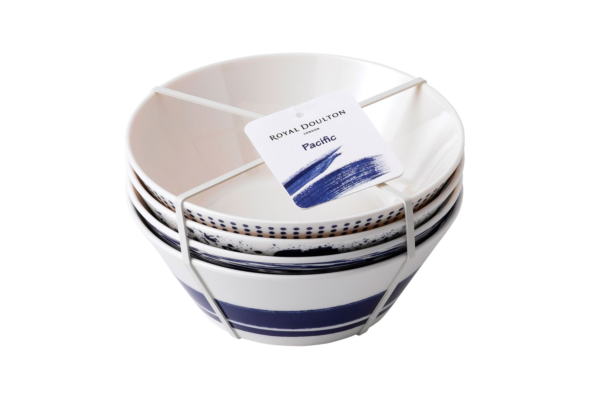 Royal Doulton Outdoor Living - Pacific Cereal Bowl - Set of 4 Melamine 15cm thumb 3