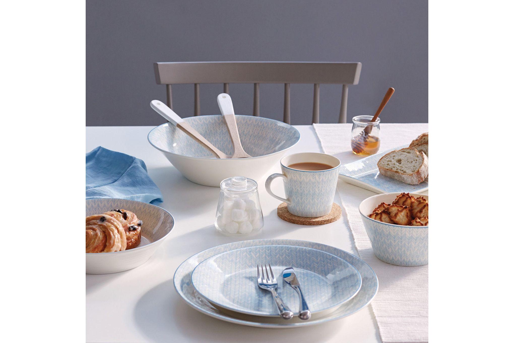 Royal Doulton Pastels 16 Piece Set Herringbone - 4 x Plate 28cm, Plate 23cm, Bowl 15cm, Mug thumb 3