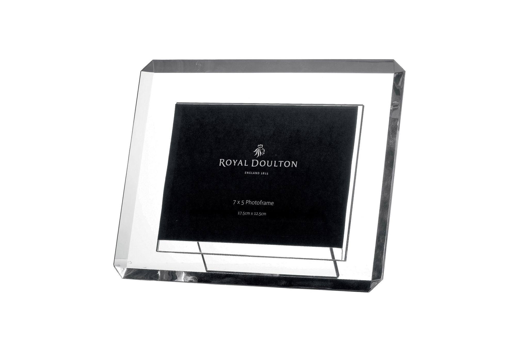 "Royal Doulton Radiance Bevelled Photo Frame Boxed 7 x 5"" thumb 1"