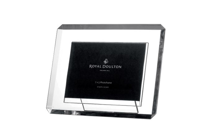 Royal Doulton Radiance Bevelled Photo Frame Boxed 7 x 5""