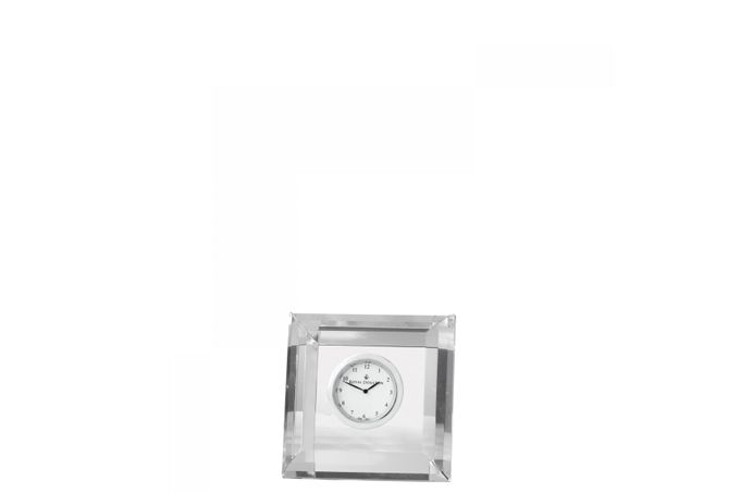 Royal Doulton Radiance Clock Square Faceted Boxed