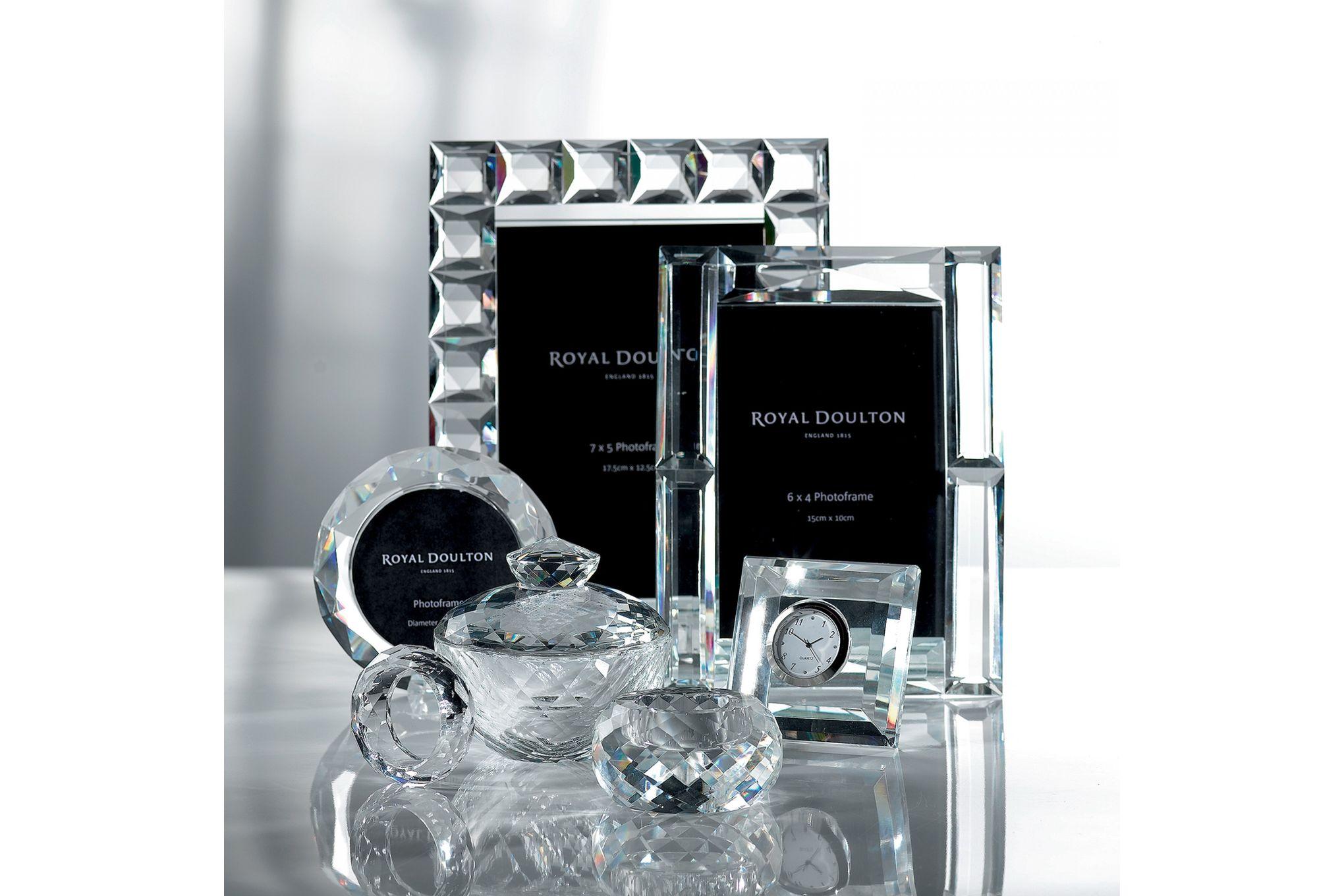 "Royal Doulton Radiance Diamond Photo Frame Boxed 6 x 4"" thumb 2"