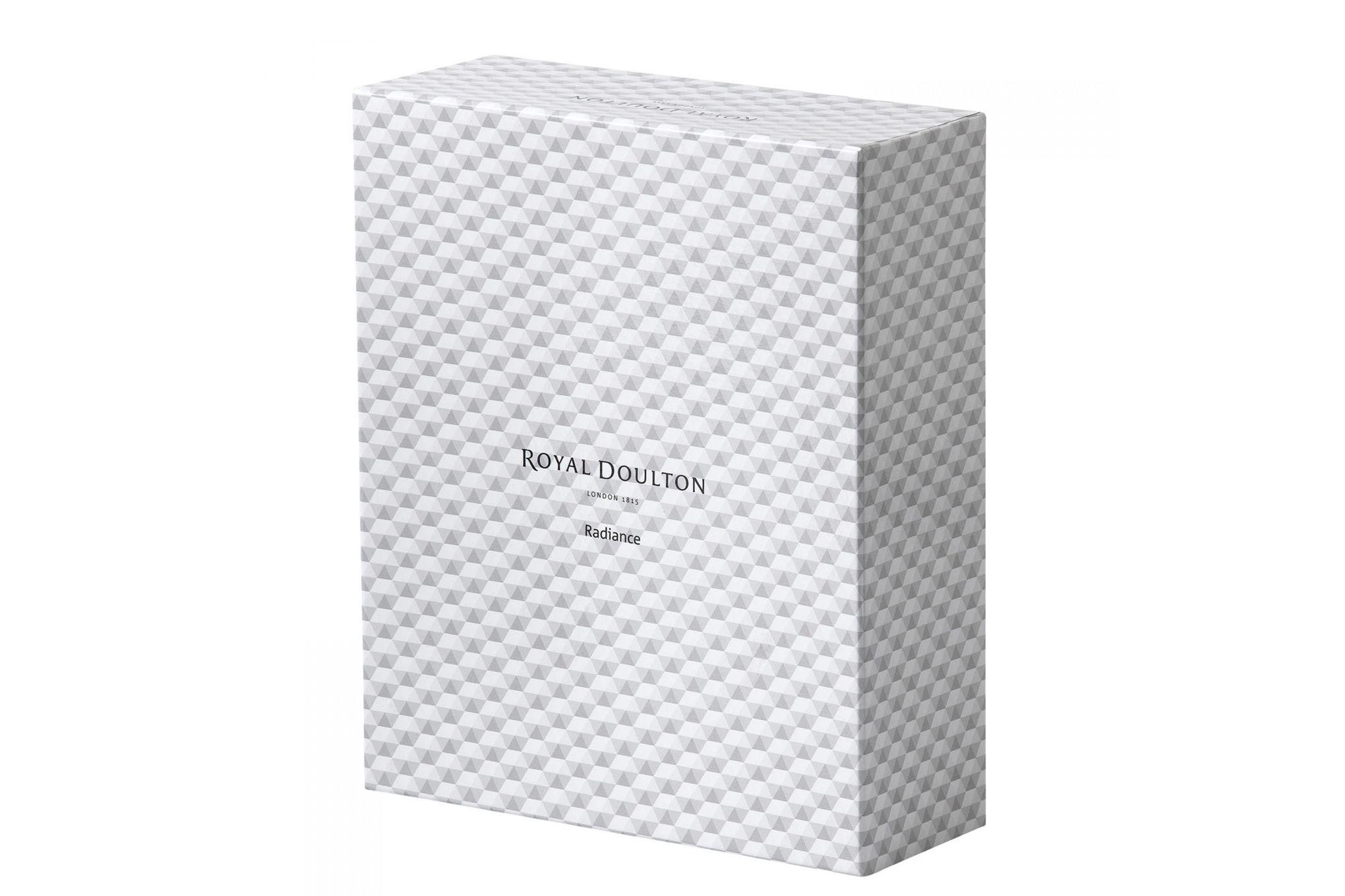 "Royal Doulton Radiance Diamond Photo Frame Boxed 7 x 5"" thumb 3"