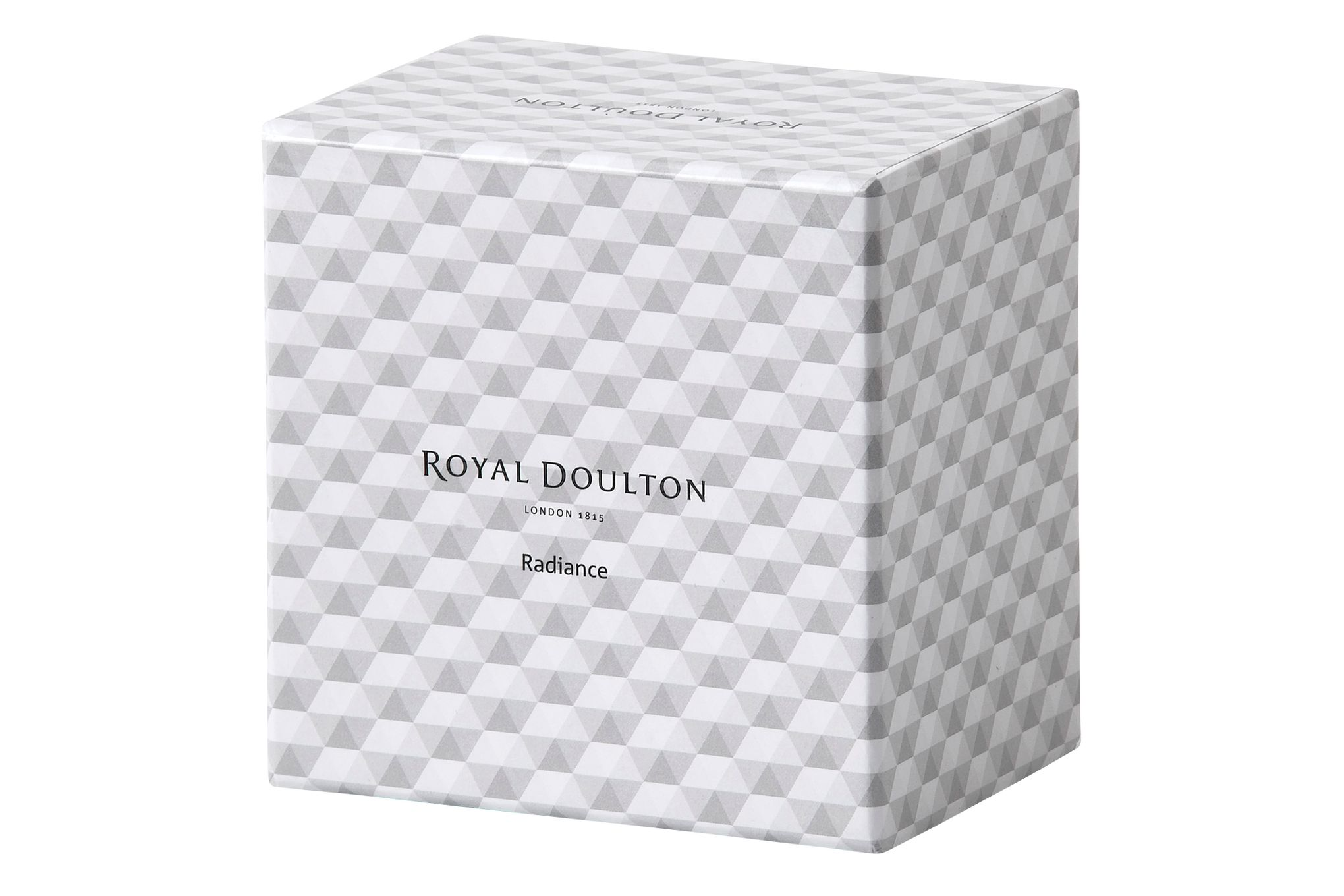 Royal Doulton Radiance Clock Round Faceted Boxed thumb 3