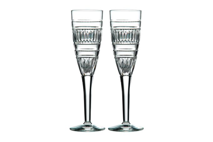 Royal Doulton Radial Pair of Flutes 140ml