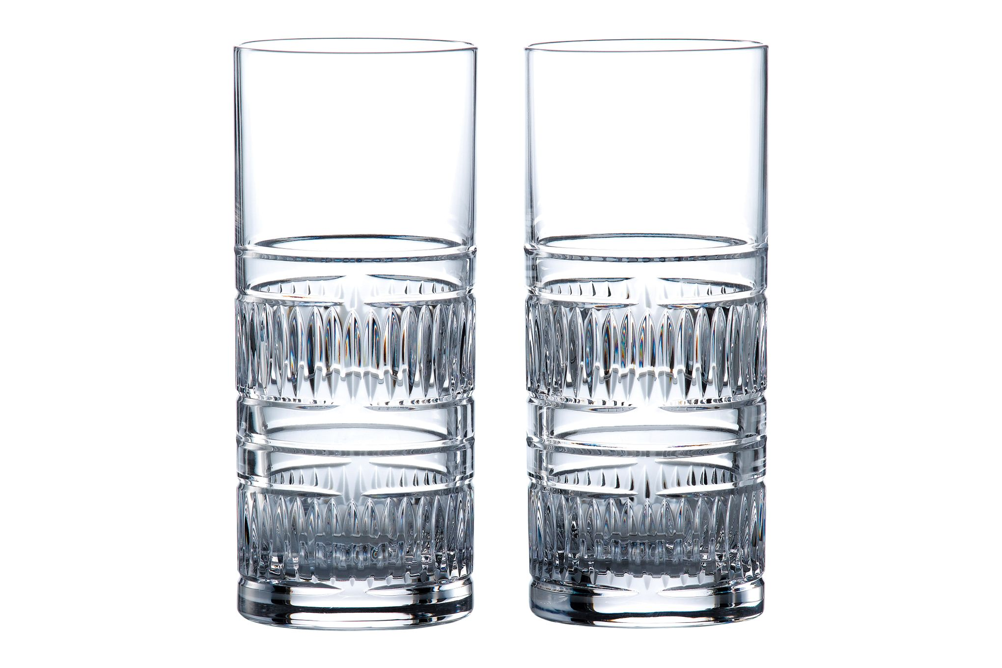 Royal Doulton Radial Pair of Highballs 320ml thumb 1
