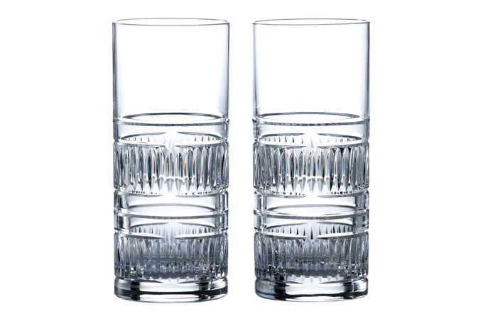 Royal Doulton Radial Pair of Highballs 320ml