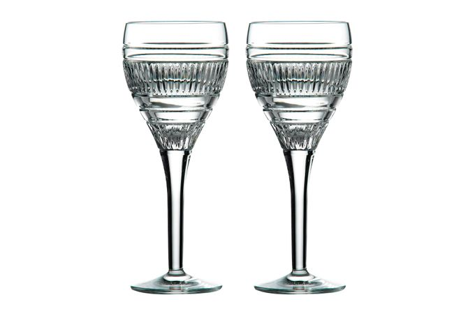 Royal Doulton Radial Pair of Wine Glasses 250ml