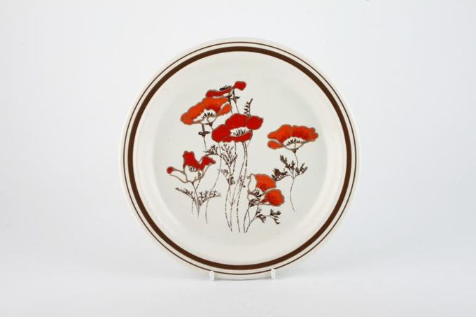 "Royal Doulton Fieldflower - L.S.1019 Starter / Salad / Dessert Plate 8 5/8"""