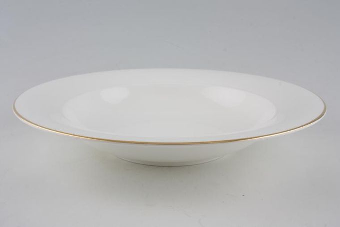 """Royal Doulton Fusion - Gold Pasta Bowl 11"""""""