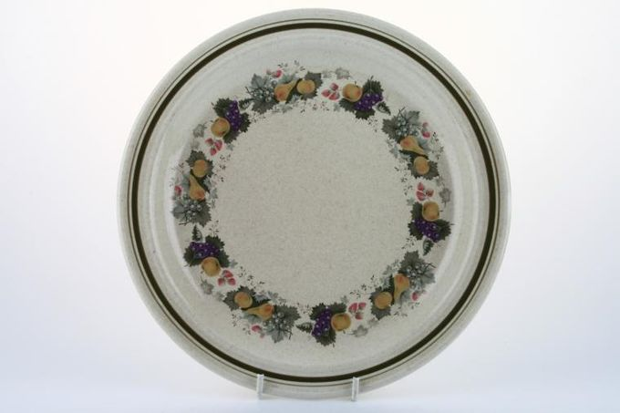 """Royal Doulton Harvest Garland - Thick Line - L.S.1018 Dinner Plate 10 1/2"""""""