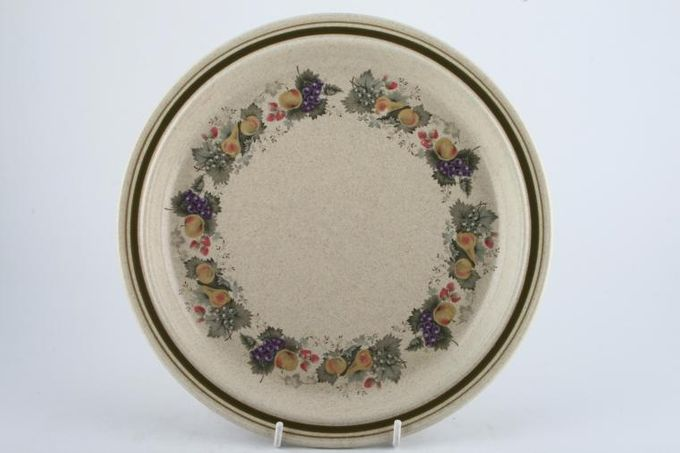 """Royal Doulton Harvest Garland - Thick Line - L.S.1018 Breakfast / Salad / Luncheon Plate 9 5/8"""""""