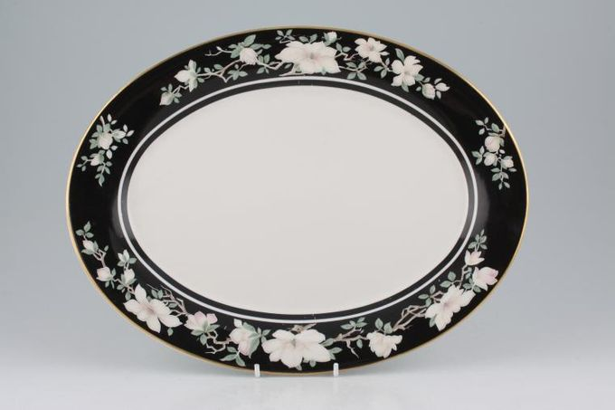 """Royal Doulton Intrigue - TC1153 Oval Plate / Platter 13"""""""