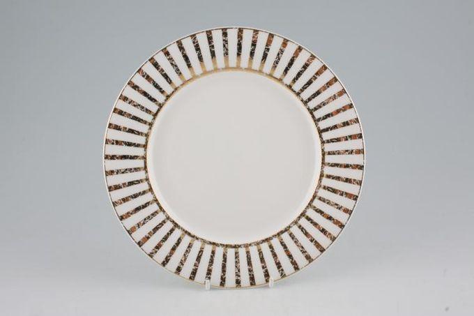 "Royal Doulton Fusion - Jive Gold Breakfast / Salad / Luncheon Plate 8 7/8"""