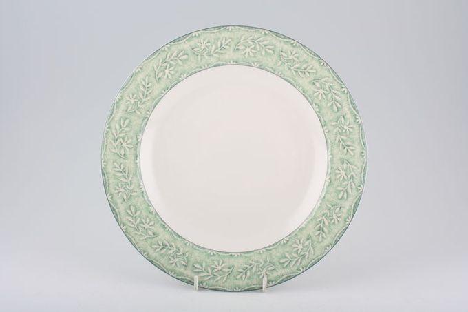 """Royal Doulton Linen Leaf Dinner Plate 10 1/2"""""""