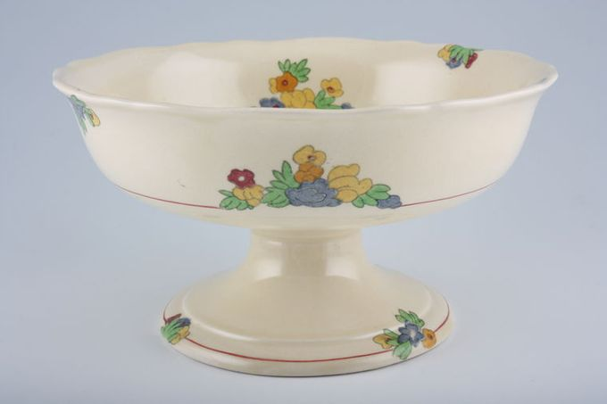 Royal Doulton Minden - D5334 Comport footed 8 1/4""