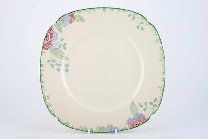"""Royal Doulton Nerissa - V1724 Dinner Plate Square 10 1/8"""""""