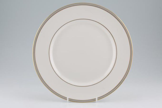 """Royal Doulton Oxford Grey - T.C.1190 Dinner Plate no centre pattern 10 7/8"""""""