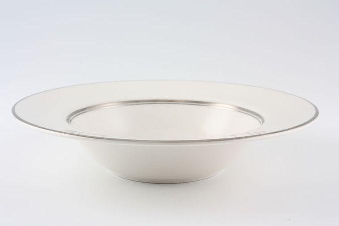"Royal Doulton Argenta - TC1002 Rimmed Bowl 8"""