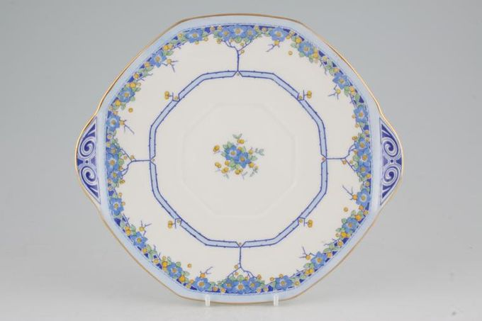 Royal Doulton Arvon Cake Plate octagonal - eared 9 7/8""