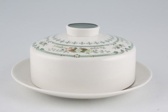 Royal Doulton Provencal - T.C.1034 Butter Dish + Lid Round