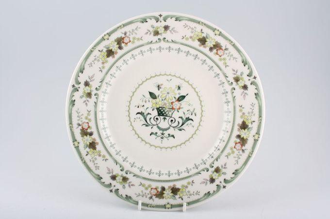 "Royal Doulton Provencal - T.C.1034 Dinner Plate Centre Pattern 10 5/8"""