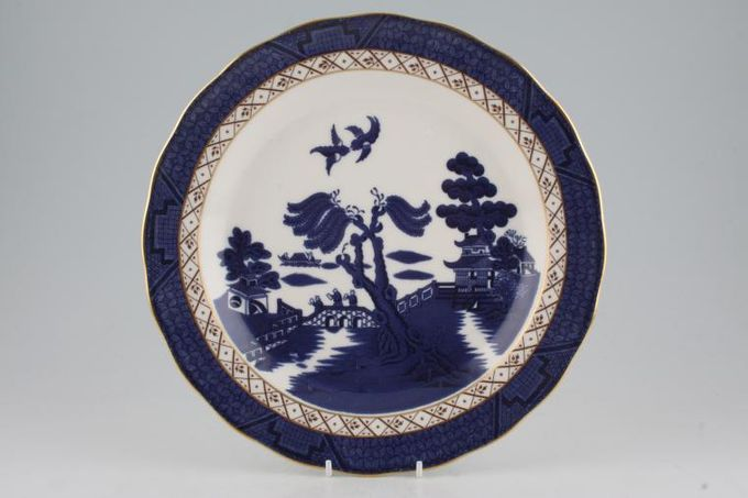 """Royal Doulton Real Old Willow Dinner Plate 10 5/8"""""""