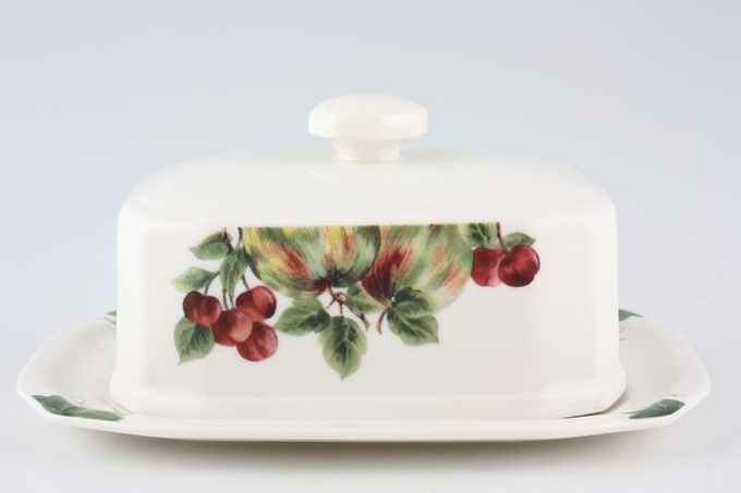 Royal Doulton Vintage Grape - T.C.1193 Butter Dish + Lid
