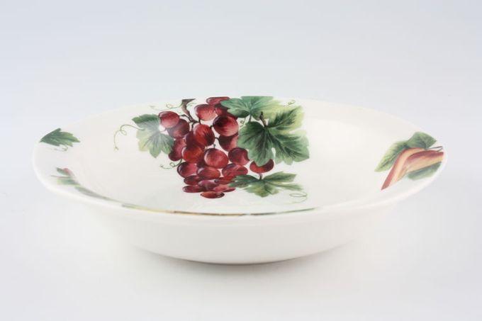"""Royal Doulton Vintage Grape - T.C.1193 Rimmed Bowl 6 1/4"""""""