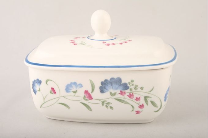 Royal Doulton Windermere - Expressions Butter Dish + Lid